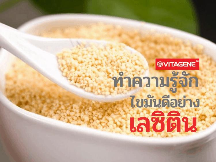 ผลิตภัณฑ์เสริมอาหาร, อาหารเสริม, วิตาจิเน่, vitagene, เลซิติน, Lecithin